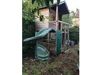 Second hand spiral slide, good condition plus 4 swings: £150