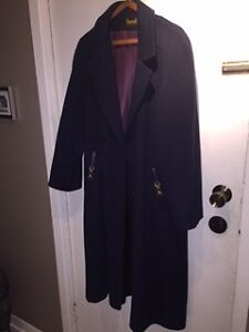 Full length lined winter coat