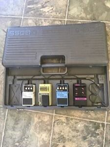 pedals with Boss Case