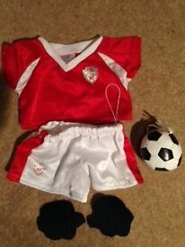 Football outfit Build a Bear