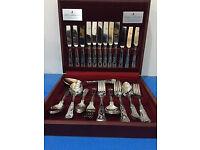 44pc set, parish venear stainless steel cutlery