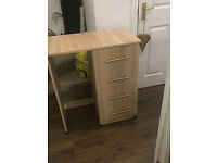 Modern Light Oak dressing table