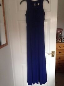 Gorgeous purple, full length evening dress