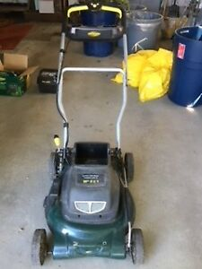 USED CORDLESS LAWN MOWER
