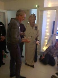 Queen Elizabeth II lifesize cardboard.