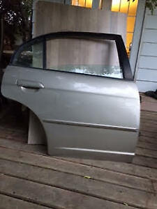 DRIVER SIDE REAR DOOR - 2004 HONDA CIVIC