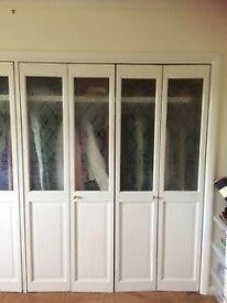 6 glazed doors
