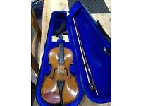 ½ size Stentor violin in original case, very good condition, hardly used