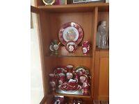 Limoges porcelain ornaments