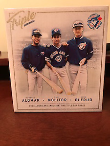 Alomar/Molitor/Olerud - Triple Bobblehead FOR TRADE