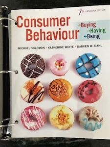 Consumer Behaviour - Buying, Having, Being 7th Canadian edition