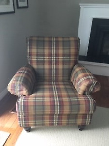 2 Brentwood Chairs (plaid)