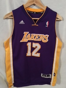 "ADIDAS LA Lakers Basketball Jersey Youth ""large"""