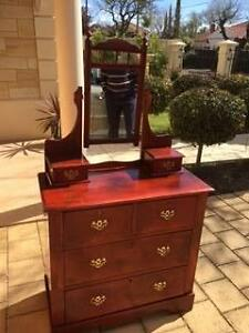 Dressing Table , Edwardian Duchess , dressing chest Gilberton Walkerville Area Preview