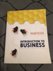 Introduction to Business-Humber 6th Ed.