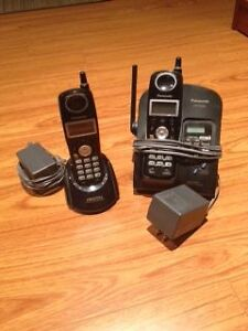Cordless Phone & Answering System - 2 Handset and Base Set
