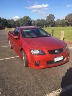 2012 sizzle red VE ute for sale (this girl will swap for tractor)