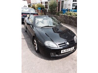 Great summer car! Low mileage MGTF with Hardtop and 11 months MOT.