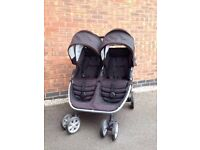 Double pushchair Brittax B Agile