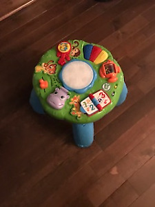 Leap frog interactive play table