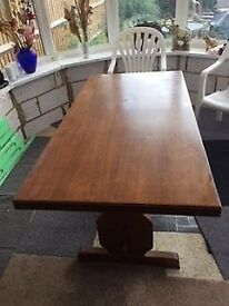 Dining room table.