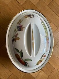 Royal Worcester China with lid