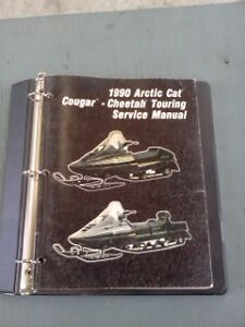 Factory service manual Cheetah/Cougar