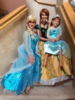 PRINCESSES -Anna~Elsa~Cinderella~Sophia~Ariel (204) 663-1000