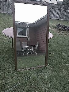 large wall mirror. Cambridge Kitchener Area image 1