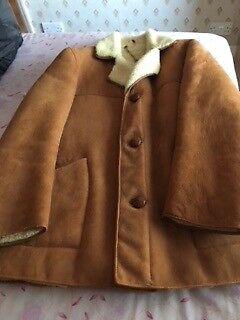 Men's Vintage (1964) Genuine Sheepskin Coat