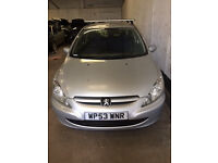 2004 Peugeot 307 Envy 1.4 Petrol Breaking for parts