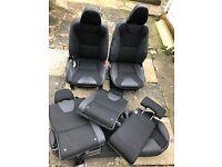 Set of Volvo XC60 fabric seats
