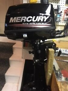 2018  Mercury 4 Stroke 6Hp