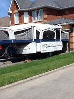 Extra-Large Tent Trailer for Rent