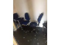 9 Office chairs for sale
