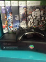 XBOX 360 KINECT 4G 5 games