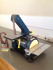 Mastercraft Belt and Disk Sander