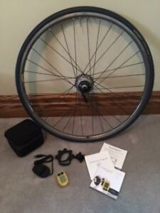 cycleops SLC+ power tap on mavic open pro wheel - Asking $400