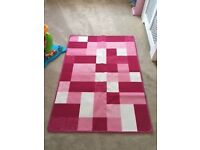 Pink Child's Rug