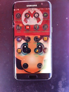 SAMSUNG GALAXY S7 edge cracked screen only $100
