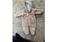 All-in-One 3-6 month winter suit