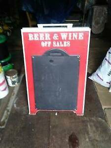 Beer & Wine Off Sales A Frame Sign