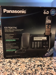 PANASONIC DIGITAL CORDED/ CORDLESS ANSWERING SYSTEM