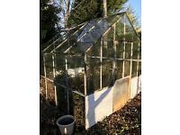 Greenhouse (8ft x 8ft) - Free to collect