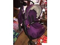 OYSTER MAX TWIN BUGGY FOR SALE