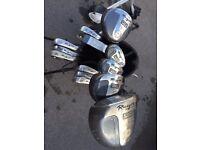 ROGUE Golf Club set C\W bag and Easy Glide Trolley