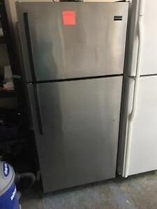 Stainless Steel Fridge Excellent Conditon with Warranty