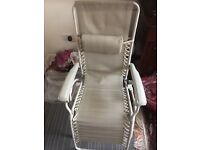 Garden chair - unused - in perfect condition