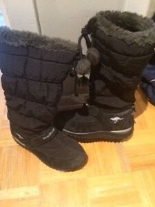Kangouroo winter boots for girls// Bottes de neige Kangouroo