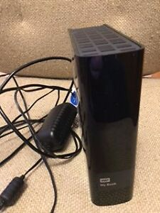 WD MY BOOK EXTERNAL HARD DRIVE WITH MOVIES Peterborough Peterborough Area image 1